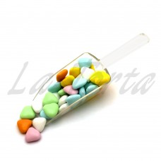 Декор шоколадный Buratti Цветные сердечки (маленькие) 100грамм
