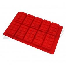 Силиконовая форма для шоколада и карамели Лего (большая)