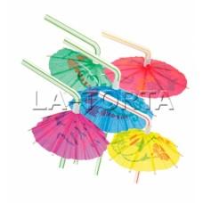 Трубочки коктейльные Зонтик