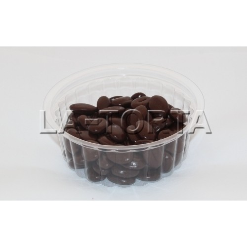 Шоколадный декор в виде кофейных зерен