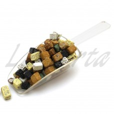 Декор шоколадный Камешки (темные) 100грамм