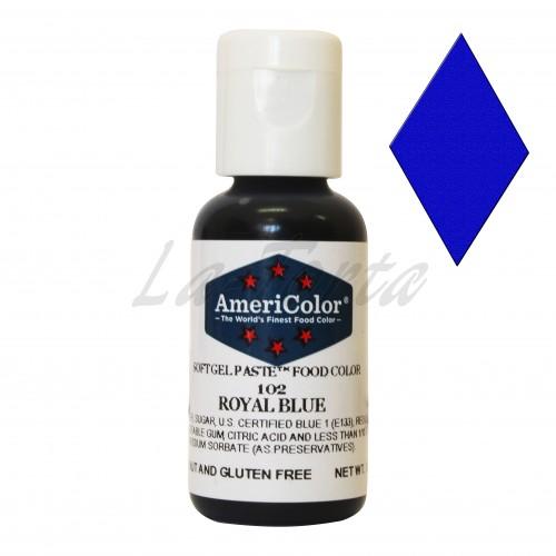 Гелевая краска Америколор Королевский синий