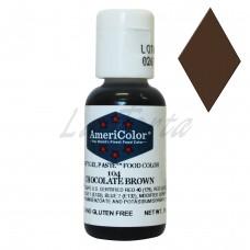 Гелевый краситель Америколор Шоколадно-коричневый