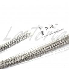 Проволока белая покрытая бумагой № 30