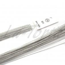 Проволока белая покрытая бумагой № 24