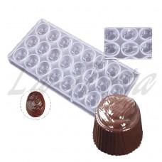 Поликарбонатная форма для шоколада Миндаль