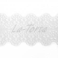 Кружева из гибкого айсинга белые (181)