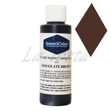 Гелевый краситель Америколор Шоколадно-коричневая 128 грамм
