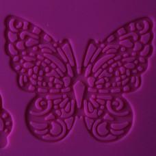 Силиконовый коврик для айсинга Бабочки