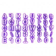 Набор резаков Английский алфавит + цифры