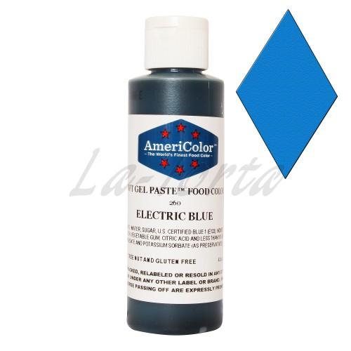 Гелевая краска Америколор Голубой электрик. 128 грамм