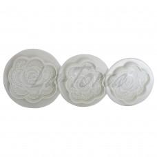 Набор плунжеров Кружевная роза (3 шт)