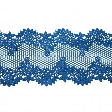 Кружева из гибкого айсинга синие (320)