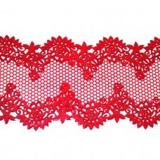 Кружева из гибкого айсинга красные (320)