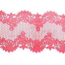 Кружева из гибкого айсинга розовые (320)