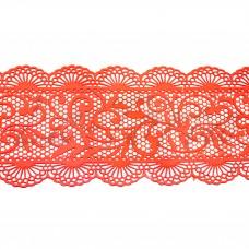 Кружева из гибкого айсинга персиковые (355)