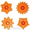 Набор из 4 резаков фирмы JEM фантастические цветы