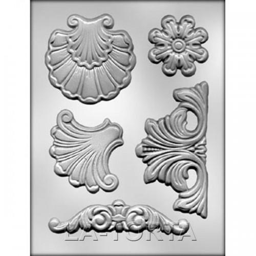 Молд для шоколада и мастики Барокко № 4