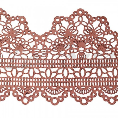 Кружева из гибкого айсинга шоколад (497)