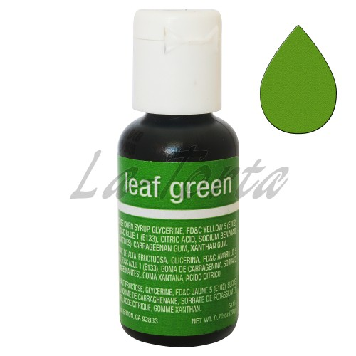 Гелевый краситель Chefmaster Liqua-Gel Leaf Green
