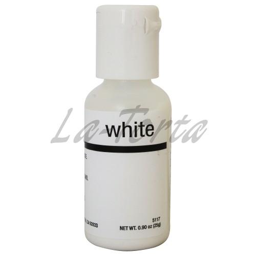 Гелевый краситель Chefmaster Liqua-Gel Bright White