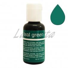 Гелевый краситель Chefmaster Liqua-Gel Teal Green