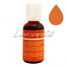 Гелевый краситель Chefmaster Liqua-Gel Sunset Orange