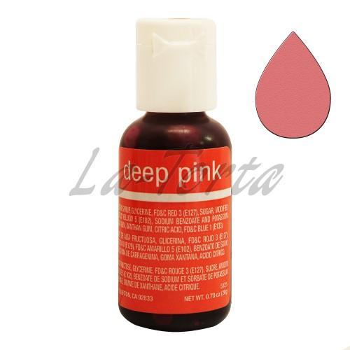 Гелевый краситель Chefmaster Liqua-Gel Deep Pink