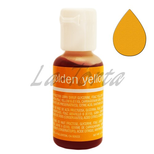 Гелевый краситель Chefmaster Liqua-Gel Golden Yellow