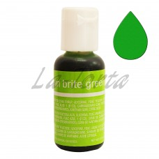 Гелевый краситель Chefmaster Liqua-Gel Neon Brite Green