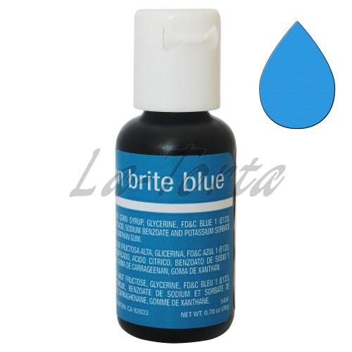 Гелевый краситель Chefmaster Liqua-Gel Neon Brite Blue