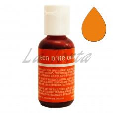Гелевый краситель Chefmaster Liqua-Gel Neon Brite Orange