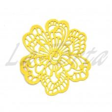 Кружева из гибкого айсинга желтые (661)