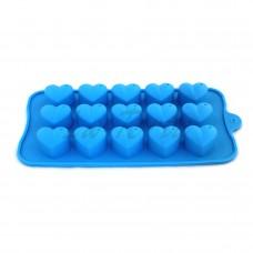 Силиконовая форма для конфет Сердечки