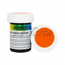Гель-краска Base Color Chefmaster Sunset Orange 28грамм
