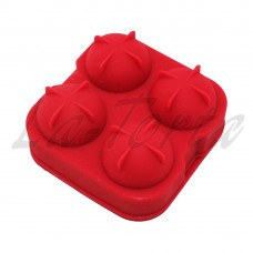 Силиконовая форма для кейк-попсов 3D(4шт)