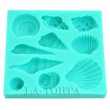 Молд Decorative силиконовый Ракушки