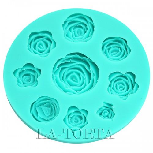 Молд Decorative силиконовый Розы