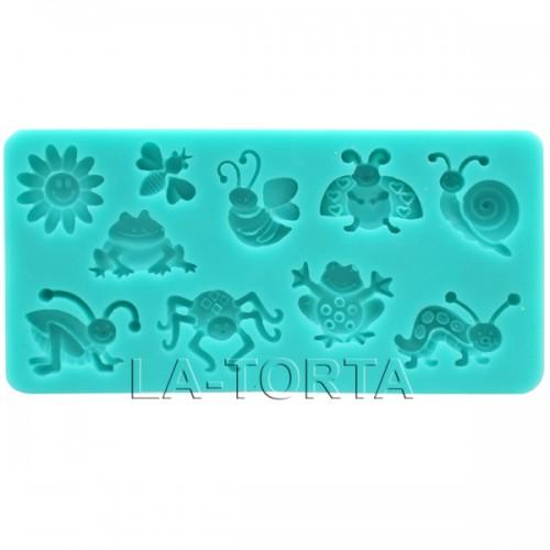 Молд Decorative силиконовый Насекомые