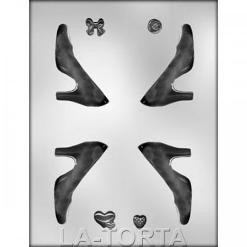 Молд 3 D Женская туфелька