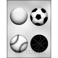 Молд для шоколада и мастики Спортивные мячи