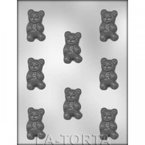 Молд для шоколада и мастики 3 D Медвежата