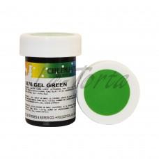 Гель-краска Base Color Chefmaster Green 28грамм