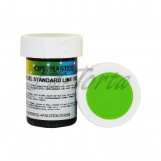 Гель-краска Base Color Chefmaster Lime Green 28грамм