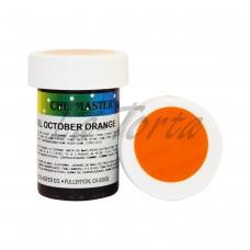 Гель-краска Base Color Chefmaster October Orange 28грамм