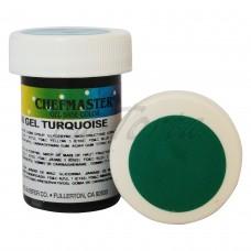 Гель-краска Base Color Chefmaster Turquoise 28грамм