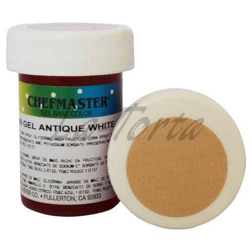 Гель-краска Base Color Chefmaster Antique White 28грамм