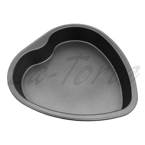 Металлическая <b>форма для выпечки Сердце</b>: цена, купить в ...