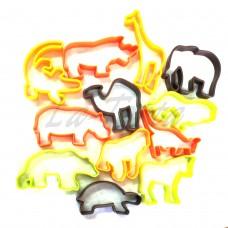 Набор пластиковых выемок Африка