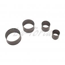 Набор металлических резаков Круги (4шт)